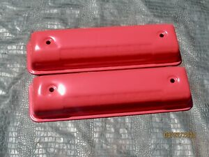 272 292 312 Ford Y Block Valve Covers Plain No Logo Reinforced Rail 1955 64 Nos