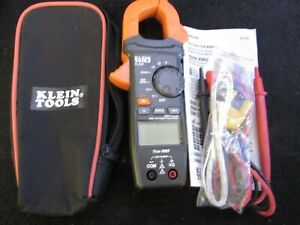 Klein Tools 400 Amp Ac Auto ranging Digital Clamp Meter Cl220 Open Package
