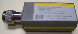 Hp 8481a Power Sensor 1 18ghz 3uw To 100mw Fully Tested And Ready For Work