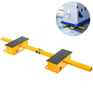Vevor Machine Dolly Skate Machinery Roller Mover Cargo Trolley 2 5t 2 Roller
