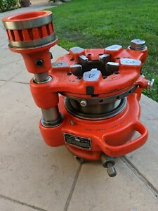 Ridgid Model 141 Hog Head Pipe Threader used Only Once Mint Condition