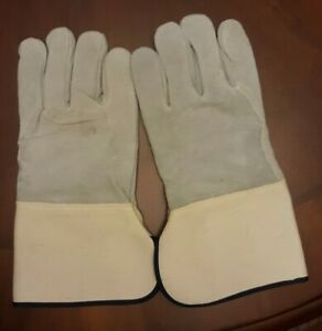 Lot Of Leather Work Gloves Size Xl 9 Pairs