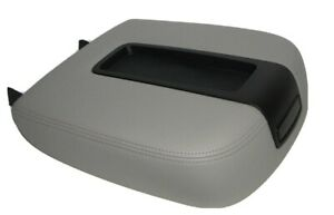 Center Console Armrest Synthetic Leather Cevrolet Tahoe Gray