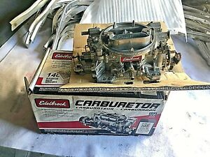 Used Edelbrock 1406 Carburetor