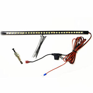 36cm 12 14v Repair Light Bar Kit White Led Panels Fit For Car Under Hood Engine