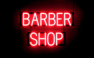 Spellbrite Ultra bright Barber Shop Sign neon Look Led Performance