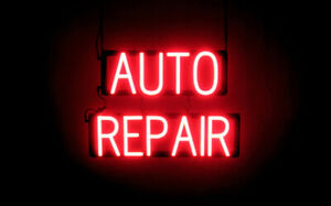 Spellbrite Ultra bright Auto Repair Sign neon Look Led Performance