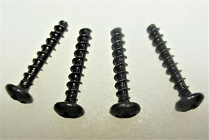 Set 4 Fluke Bottom Case Screws For 50 51 52 54 73 75 76 77 78 79 Multimeters