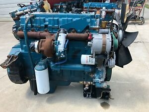 2001 International Dt466e Diesel Engine 215hp Good Running Take Out