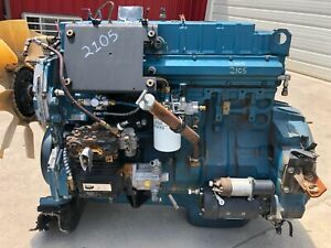 2001 International Dt466e Diesel Engine 175hp Good Running Take Out