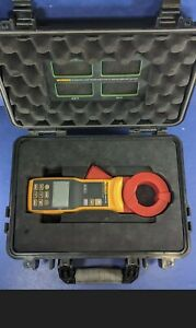Used Fluke 1630 2 Fc Earth Ground Clamp Excellent Screen Protector Hard Case