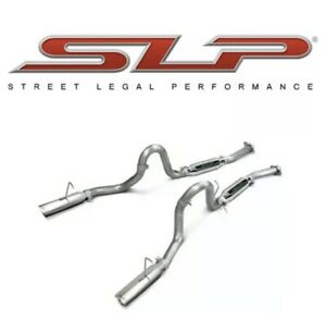 1986 1993 Mustang Lx Cobra Loudmouth Cat Back Exhaust System Slp M31015