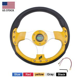 12 Inch 315mm Universal Drifting Racing Sport Lightweight Steering Wheel Us
