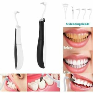 5 In1 Ultrasonic Dental Scaler Tooth Stain Calculus Remover Teeth Whitening Tool