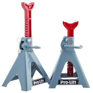 Car Jack Stands 6 Ton Vehicle Support High Lift Garage Auto Tool New