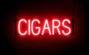 Spellbrite Ultra bright Cigars Sign neon Look Led Performance