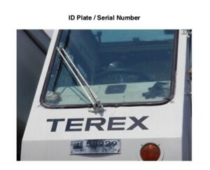 Terex Rt160 Rough Terrain 60 Ton Crane