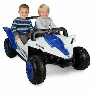 Yamaha Kids Power Wheels ATV 12V Battery Powered Ride On Racer Safe to Ride