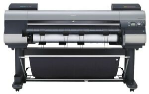 Canon Ipf8400 44 Inch Wide Format Printer With Stand printheads Worn Out