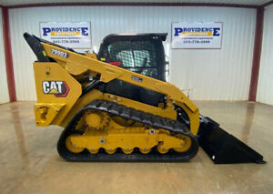 2019 Cat 299d3 Cab With A c Heat 2 Speed High Flow Xps