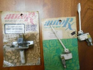 3 Vintage Rat Rod Hot Rod Off On Toggle Paddle Switches Auto Rx White