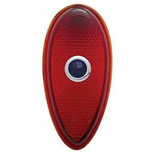 United Pacific Tail Light Lens With Blue Dot For 1938 39 Ford Passenger Car