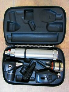 Welch Allyn Diagnostic Otoscope Coaxial Opthalmoscope 97150 71050 c 11720 25020