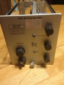 Tektronix Type 86 High Gain Fast Rise Preamp