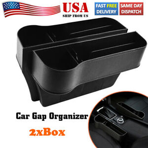 Car Gap Organizer Storage Box Seat Cup Holder For Stowing Tidying Auto Parts