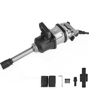 2800 Ft lbs Air Impact Wrench 1 Drive Pneumatic Wrench Gun 8 Extended Anvil