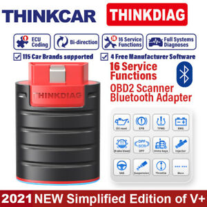 Thinkdiag Bluetooth Pro Car Obd2 Scanner Obdii Scan Tool For Iphone Android