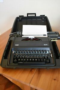 Royal Epoch Portable Typewriter With Case