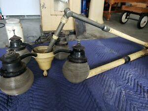 Vintage Dental Equipment With Rare Lamp