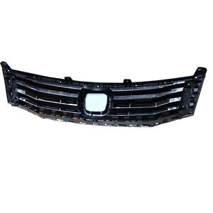 Front Grill Grille Vent Modified Replace Fit For Honda Accord 2008 2010