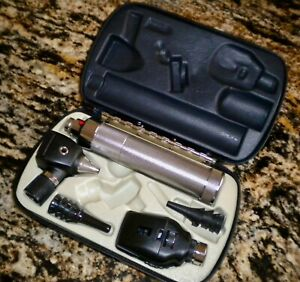 Welch Allyn Otoscope Ophthalmoscope Set diagnostic Set new 3 5v Rechargeable