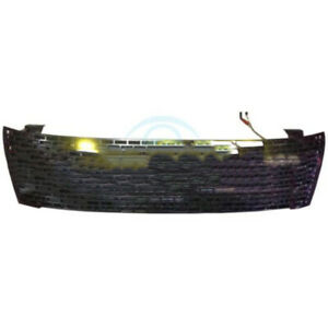 For Ford Ranger T6 2012 2014 Black Front Grille Trim Replacement With Led