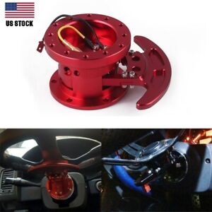 Car Steering Wheel Quick Release Hub Adapter Body Removable Snap Off Boss Kit