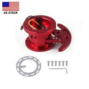 Us Steering Wheel Quick Release Hub Adapter Body Removable Snap Off Boss Kit