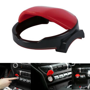 Engine Start Stop Push Button Switch Cover Trim Fits For 2015 2020 Ford Mustang