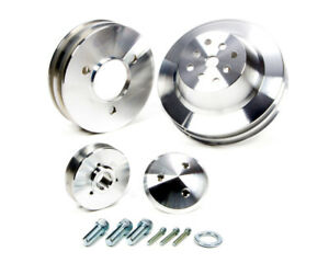 March Performance Bb Chevy 3 Pc Pulley Set