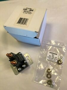 Stancor Power Contactor Type 120 904 24vdc Coil 100amps Spst Contacts