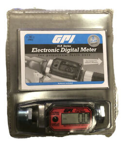 Gpi 01a Series Electronic Digital Meter For Petroleum Fuels Only 01a31gm new