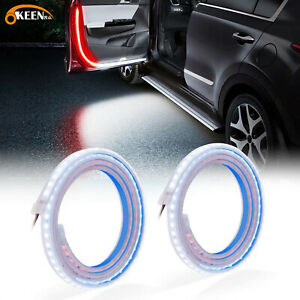 Car Door Opening Warning Led Strip Light Flashing Signal Anti Collision Safety