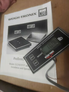 Shipping Scale By Avery Weigh tronix 250lb Capacity 250 X 0 1 Lb