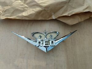Vintage Nos Diamond Reo Speedwagon Emblem New Old Stock 27710 Y2 Gold Comet Vhtf