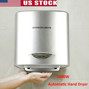 1000w Commercial And Household Automatic Electric Hand Dryer Hot Air Hand Blower