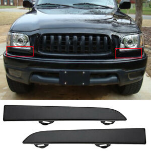 Under Headlight Cover Front Bumper Filler Trim Panel For Toyota Tacoma 2001 2004