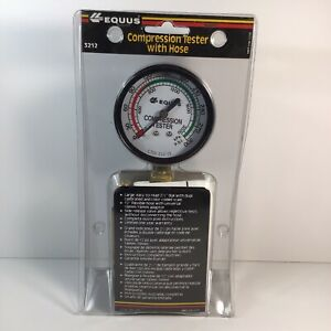 Vintage Equus 3212 Compression Tester Style 0 To 300 Psi M2 New Sealed
