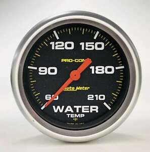 Auto Meter Pro Comp 2 5 8in Water Temp 60 210 Mech