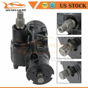 Complete Power Steering Gear Box Assembly For Chevrolet Gmc Truck Pickup 27 8418